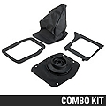 Shifter Boot and Bezel Kit - Manual (79-86 All) - AM Restoration 12129||12130||17283