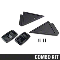 Interior Resto Starter Kit - Power Mirrors (79-86 All) - AM Restoration 12740||87209||87210||94313