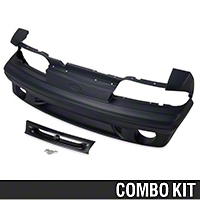 Cobra Style Front Bumper Kit (87-93 All) - AM Restoration 12137||12138||94318