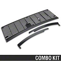 Cowl Vent Grille and Lower Windshield Trim Kit (83-93 All) - AM Restoration 17156||94302