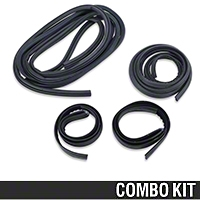 Door And Hatch Resto Weatherstripping Kit - Hatchback (79-93 All) - AM Restoration 12121||12122||12726||95714