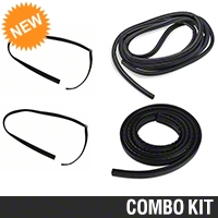 Door And Trunk Resto Weatherstripping Kit - Coupe (79-93 All) - AM Restoration 12121||12122||17177||95714