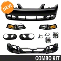 Cobra Front Fascia Conversion Kit - Unpainted (99-04 All) - AM Exterior KIT||41020||49092||49337||53600||53601||87000||87236||94375