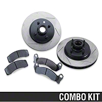 Performance Brake Rotor and Pad Kit - Front (87-93 All) - AM Exterior 126.61026SL||126.61026SR||HB263F650