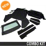 Convertible Top Kit - Black (83-90 All) - AM Restoration 95009||95011||95049||95057