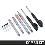 KYB Gas-A-Just Shock And GR-2/Excel-G Strut Kit (87-93 All) - KYB 235009||KG4521||KG5551