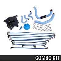 Ford Racing Blue Underhood Restoration Kit (87-93 5.0L) - Ford Racing DUI-34100BL||E6TZ-12252-A||M-12259-C301||M-6052-B