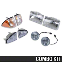 Headlight and Fog Light Kit (87-93 GT) - AM Lights 49320||94324