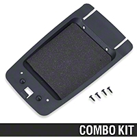 Center Console Arm Rest Panel Base Kit (87-93 All) - AM Restoration 87232||94389