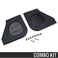 Door Speaker Grille Kit - Black (87-93 All) - AM Restoration 87211||95000