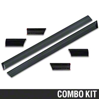 LX Side Body Molding - 6 Piece Kit (87-93 LX) - AM Restoration 17127||E7ZZ-16038||17128||E7ZZ-16039||17135||E7ZZ-6129076||17136||E7ZZ-6129077||17137||E7ZZ-6120938-LX||17138||E7ZZ-6120939-LX