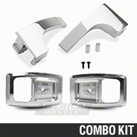 Billet Interior Door Handle And Bezel kit (79-93 All) - AM Restoration 87209||891||94201||94202