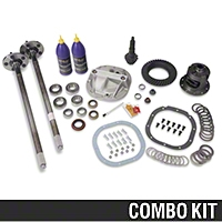 8.8in 31 Spline Axle and 4.10 Gear Upgrade Kit - 5 Lug (86-93 5.0L) - AM Drivetrain 21201||R8.8RMK||24002||M-4209-G410A||24062||M-4204-F318C||45018||1303||50240||M-4033-G2||50261||M-1225-B||73000||A883151