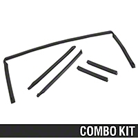 5 Piece Weatherstripping Kit - Convertible (88-93 All) - AM Restoration 17178||17179||17180||95720