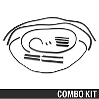 Complete Weatherstrip Kit - Convertible (88-93 All) - AM Restoration 17177||17178||17179||17180||17181||95701||95713||95715||95720