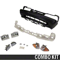 Front Bumper Cover and Headlight Kit (87-93 LX) - AM Restoration 17118||87252||87269||94324||94400