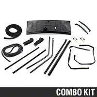 Exterior Restoration Kit - Coupe (87-93 All) - AM Restoration 17156||17177||87202||94302||94304||94305||94308||95700||95703||95714||95719