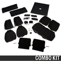 Interior Conversion Kit - Black (90-91 Hatchback) - AM Restoration 50102||81578||95005||95017||95500