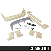 Cobra Style Body Kit - Hatchback (87-90 All) - AM Exterior 12137||12138||72055||72090||72099||72103