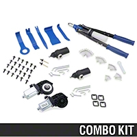 Door Lock Actuator And Power Window Motor Kit (79-93 All) - AM Restoration 17230||17533||17577||17578||86006||86007||87218||87224