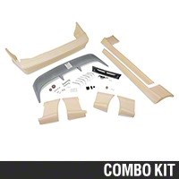 Cobra Style Body Kit - Coupe/Convertible (87-90 All) - AM Exterior 12137||12138||72054||72090||72099||72103