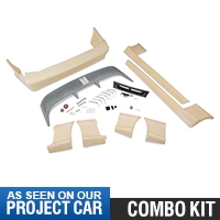 Cobra Style Body Kit - Coupe/Covertible (91-93 All) - AM Exterior 12137||12138||72054||72091||72099||72103