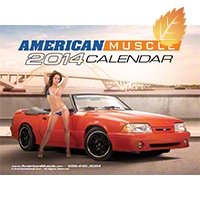 American Muscle 2014 Calendar - Marketing Materials 999902