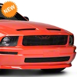 Modern Billet Black Retro Replacement Grille (05-09 V6) - Modern Billet 101177