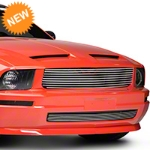 Modern Billet Polished Retro Replacement Grille (05-09 V6) - Modern Billet 101176